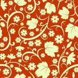 Teste padrão sem emenda floral abstrato Foto de Stock Royalty Free