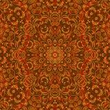 Teste padrão sem emenda floral abstrato Foto de Stock
