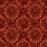Teste padrão sem emenda floral abstrato Imagem de Stock Royalty Free