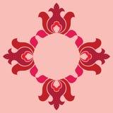 Teste padrão sem emenda floral básico Fotografia de Stock