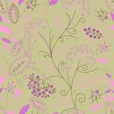 Teste padrão sem emenda floral bonito. ilustração stock