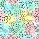 Teste padrão sem emenda floral bonito bonito Foto de Stock Royalty Free