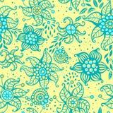 Teste padrão sem emenda floral bonito. Ilustração do vetor Imagem de Stock