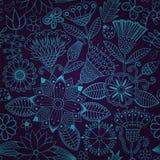 Teste padrão sem emenda floral colorido ilustração stock