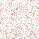 Teste padrão sem emenda floral com folha. Imagem de Stock Royalty Free