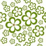 Teste padrão sem emenda floral da margarida Foto de Stock