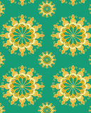 Teste padrão sem emenda floral do fundo Fotografia de Stock