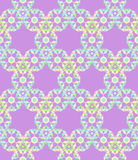 Teste padrão sem emenda floral do laço pastel abstrato na luz - backg cor-de-rosa Imagem de Stock