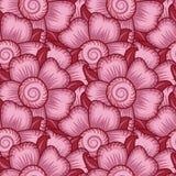 Teste padrão sem emenda floral do papel de parede Fotografia de Stock Royalty Free