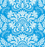Teste padrão sem emenda floral do papel de parede Imagem de Stock