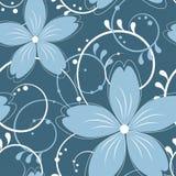 Teste padrão sem emenda floral do vetor Foto de Stock