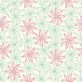 Teste padrão sem emenda floral do vetor Fotografia de Stock Royalty Free