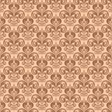 Teste padrão sem emenda floral do vintage à moda, vetor vitoriano do estilo Fotos de Stock Royalty Free