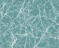 Teste padrão sem emenda floral dos ramos Imagem do vetor ilustração royalty free
