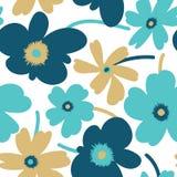 Teste padrão sem emenda floral elegante ilustração stock