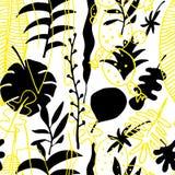 Teste padrão sem emenda floral Fundo brilhante da natureza do vetor ilustração do vetor