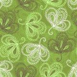 Teste padrão sem emenda floral ornamentado Fotos de Stock