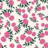 Teste padrão sem emenda floral (papel de envolvimento) ilustração royalty free