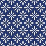 Teste padrão sem emenda floral primitivo bonito ilustração stock