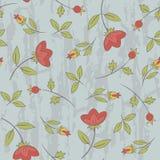 Teste padrão sem emenda floral retro Fotografia de Stock Royalty Free