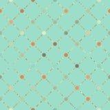 Teste padrão sem emenda floral retro. EPS 8 ilustração stock
