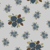 Teste padrão sem emenda floral Textura com flores Fotografia de Stock Royalty Free