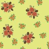 Teste padrão sem emenda floral Textura com flores Imagens de Stock Royalty Free