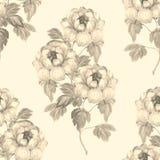 Teste padrão sem emenda floral tirado mão 21 da aquarela Foto de Stock Royalty Free