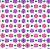 Teste padrão sem emenda - flores Fotografia de Stock Royalty Free