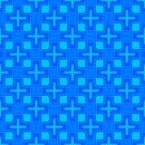 teste padrão sem emenda geométrico ilustração do vetor