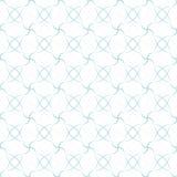 Teste padrão sem emenda geométrico abstrato azul Fotografia de Stock Royalty Free