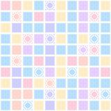 Teste padrão sem emenda geométrico abstrato com colorido Imagem de Stock