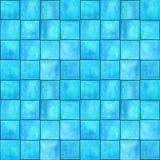 Teste padrão sem emenda geométrico abstrato com quadrados Arte finala colorida do watercolour fotografia de stock royalty free