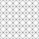 Teste padrão sem emenda geométrico abstrato de repetir rombos Fotos de Stock Royalty Free