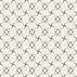 Teste padrão sem emenda geométrico abstrato preto Imagens de Stock Royalty Free