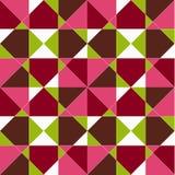 Teste padrão sem emenda geométrico abstrato, vetor Foto de Stock