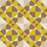 Teste padrão sem emenda geométrico abstrato, vetor Imagem de Stock