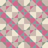 Teste padrão sem emenda geométrico abstrato, vetor Fotos de Stock Royalty Free