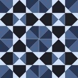 Teste padrão sem emenda geométrico abstrato, vetor Fotografia de Stock Royalty Free