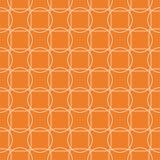 Teste padrão sem emenda geométrico alaranjado Imagem de Stock