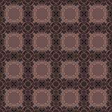 Teste padrão sem emenda geométrico ch do sumário retro do fundo dos elementos Fotografia de Stock