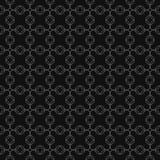 Teste padrão sem emenda geométrico cinzento do vetor Fotos de Stock