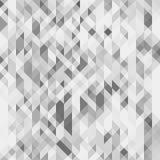 Teste padrão sem emenda geométrico cinzento Textura poligonal futurista do Grayscale Pode ser usado como um fundo do Web site Imagem de Stock Royalty Free