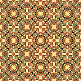 Teste padrão sem emenda geométrico decorativo Imagens de Stock Royalty Free