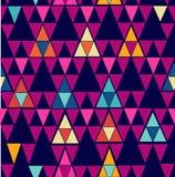 Teste padrão sem emenda geométrico do moderno na moda do vintage. ilustração stock