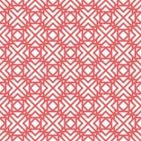 Teste padrão sem emenda geométrico do vetor Imagens de Stock Royalty Free