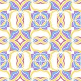 Teste padrão sem emenda geométrico do vetor ilustração royalty free