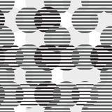 Teste padrão sem emenda geométrico do vetor Fotos de Stock Royalty Free