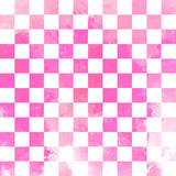 Teste padrão sem emenda geométrico do vetor da aquarela Imagem de Stock