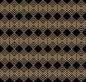 Teste padrão sem emenda geométrico elegante Foto de Stock Royalty Free